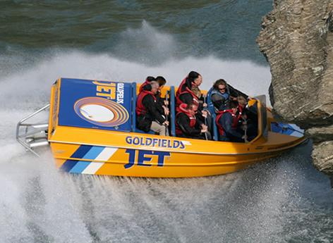 goldfields jet boat