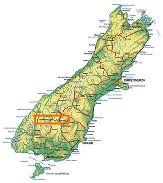 Goldfields Jet Boats Location Whangarei